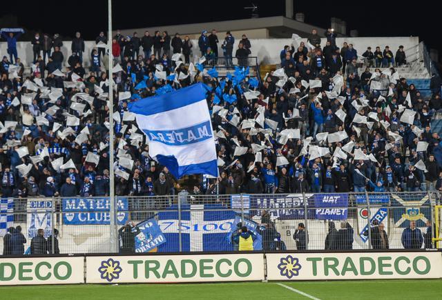 La Gradinata dello stadio XXI Settembre, foto: Emanuele Taccardi