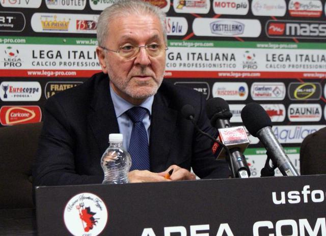 Il presidente Francesco Ghirelli della Lega Pro, foto: Fonte Web