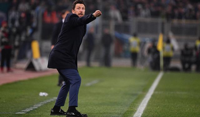 Il tecnico Eusebio Di Francesco, foto: Fonte Web