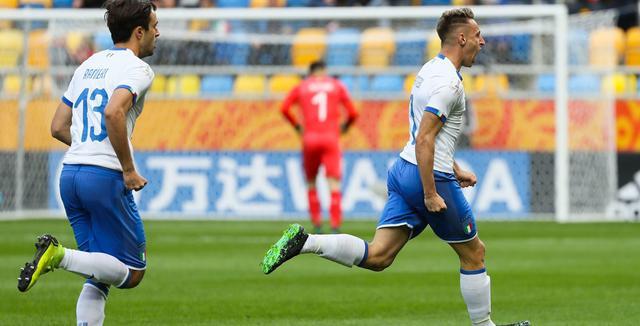 L'esultanza degli azzurrini, FOTO: FIFA.COM