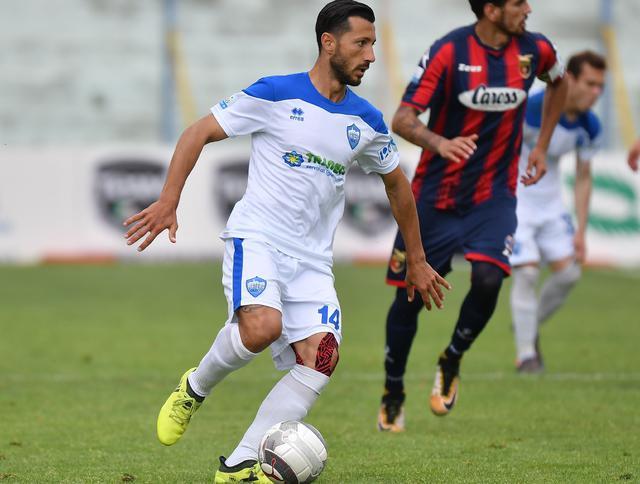 Il centrocampista Andrea De Falco, foto: Giuseppe Scialla