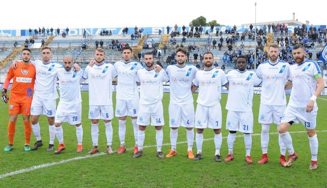 La squadra del Matera, foto: Sandro Veglia