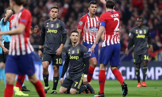 Una fase di Atletico Madrid-Juventus, foto: Fonte Web