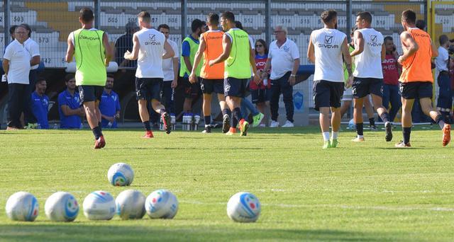 L'allenatore dei biancoazzurri, foto: Fonte Web