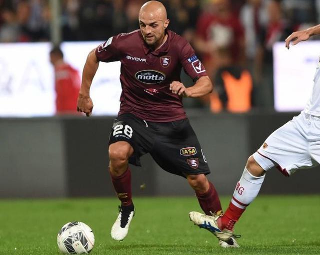 Il centrocampista Antonio Zito, foto: Fonte Web