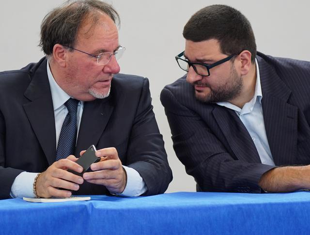 Il presidente Lamberti e il dg De Simone, foto: Emanuele Taccardi