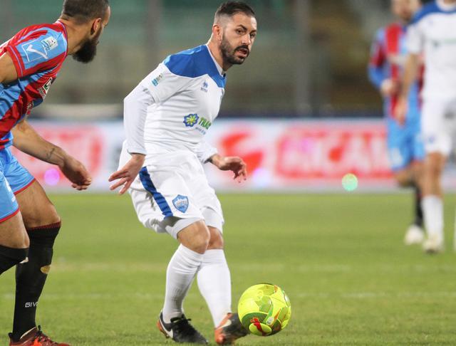 L'esterno offensivo Nicola Strambelli, foto: Nino Russo