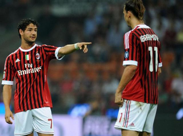 Pato e Ibrahimovic, foto: Fonte Web