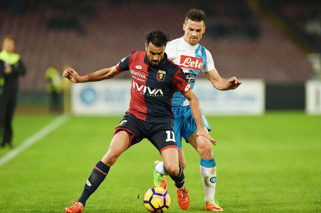 L'attaccante Raffaele Palladino in azione, foto: Fonte Web