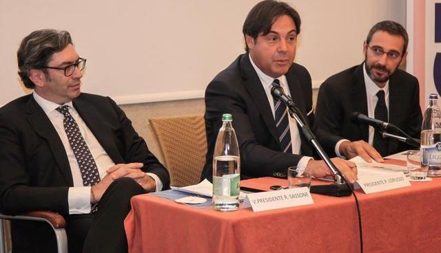 Sassone, Lorusso e Checchi, FOTO: OLIMPIAMATERA.IT-ROBERTO LINZALONE