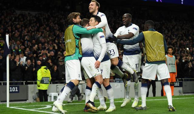 L'esultanza del Tottenham, foto: Fonte Web