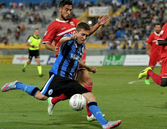 L'attaccante Arturo Lupoli, foto: Fonte Web