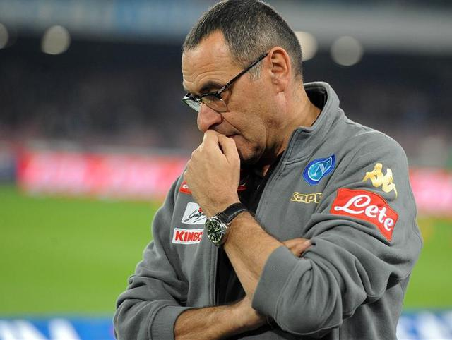Il tecnico Maurizio Sarri, foto: Fonte Web