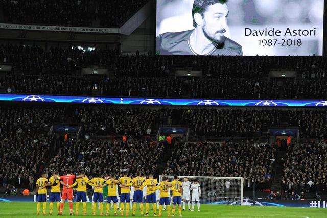 Il ricordo di Astori in Tottenham-Juventus, foto: Tuttomercatoweb.com