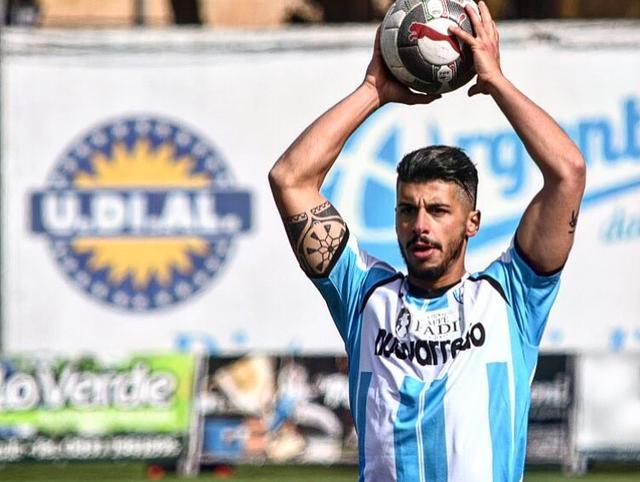 Il centrocampista Pasquale Turi, foto: Fonte Web