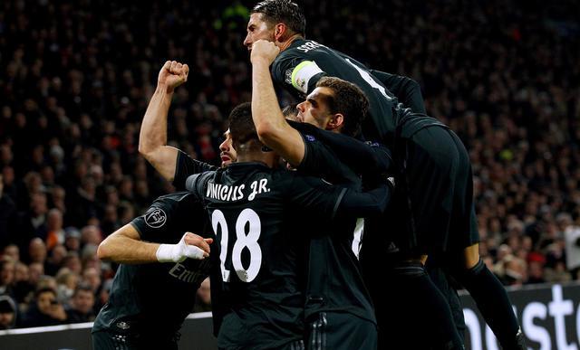 L'esultanza del Real Madrid, foto: Uefa.com