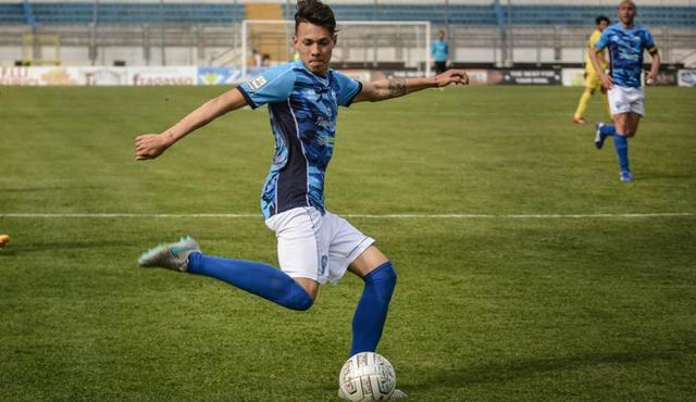 Il centrocampista Sonny D'Angelo, FOTO: TUTTOMATERA.COM-EMANUELE TACCARDI
