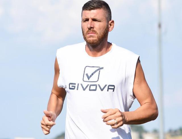Il difensore Mariano Stendardo, foto: Sandro Veglia