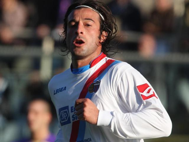 L'attaccante Gianvito Plasmati, foto: Fonte Web