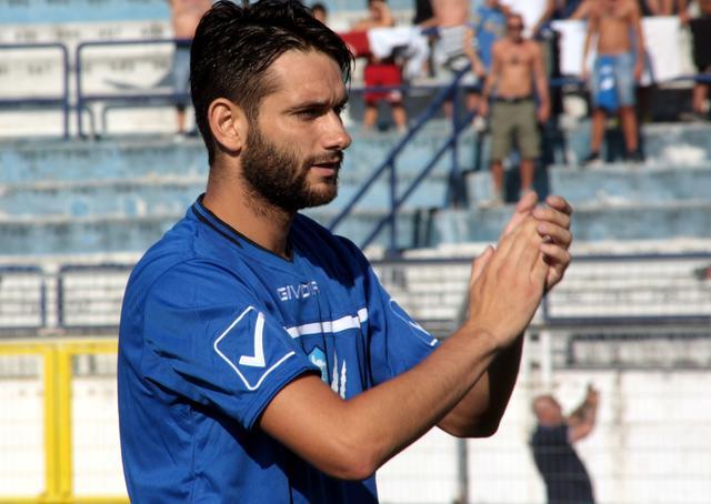 Il centrocampista Davide Corso, foto: Sandro Veglia