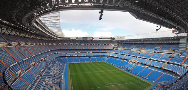 Lo stadio Santiago Bernabeu, foto: Fonte Web