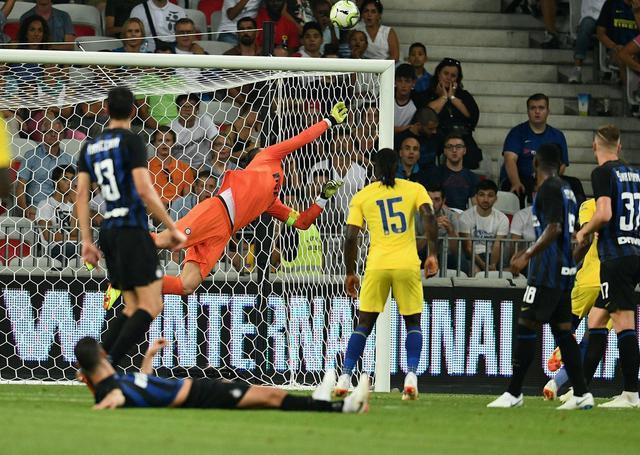 Una fase di Inter-Chelsea, foto: Inter.it