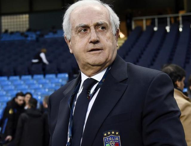 Il commissario Roberto Fabbricini della Figc, foto: Fonte Web
