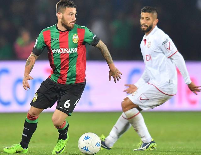 Il centrocampista Federico Angiulli, foto: Fonte Web