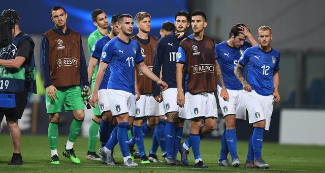 Gli azzurrini nel finale, FOTO: CLAUDIO VILLA-FIGC.IT