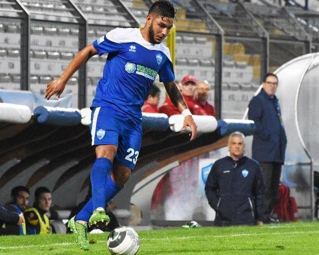 Il centrocampista Francesco Urso, foto: Sandro Veglia