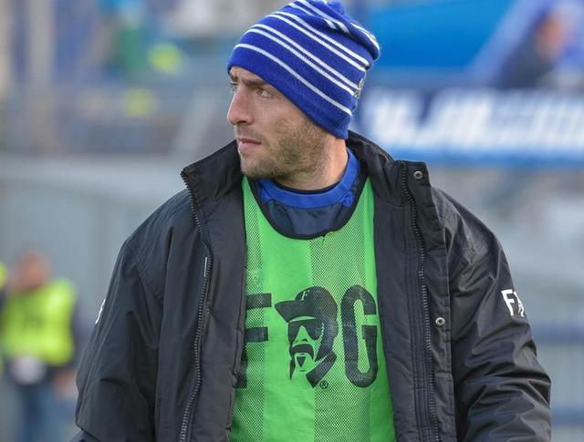 L'ex capitano biancoazzurro Gaetano Iannini, foto: Emanuele Taccardi