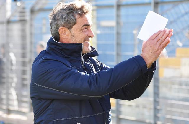 Il tecnico Gaetano Auteri, foto: Sandro Veglia - MateraCalcioStory.it