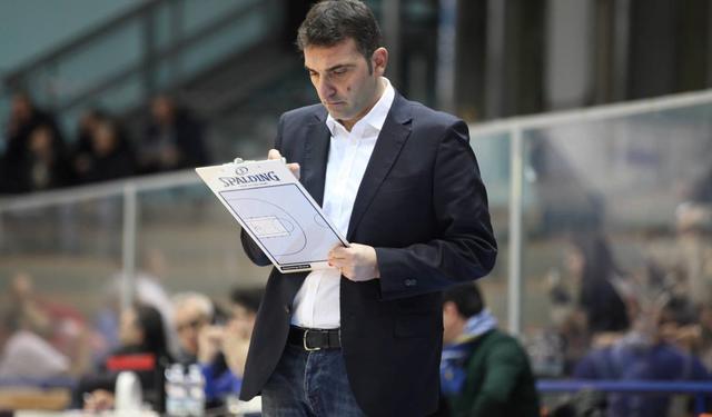 Il coach Agostino Origlio dell'Olimpia Matera, foto: Roberto Linzalone