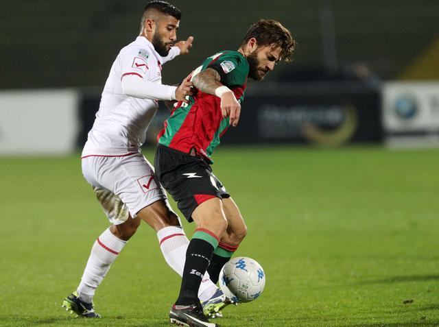 L'attaccante Diego Albadoro in azione, foto: Fonte Web