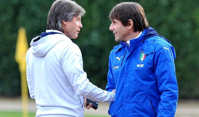 Gabriele Oriali e Antonio Conte, FOTO: FONTE WEB