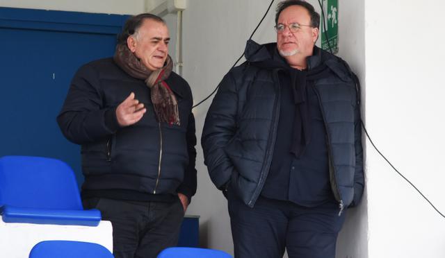 Il presidente Rosario Lamberti in tribuna, foto: Sandro Veglia