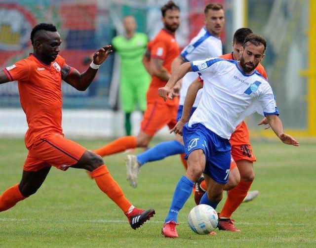 L'attaccante Orlando in un'azione di gioco, foto: Francesco Mazzitelli