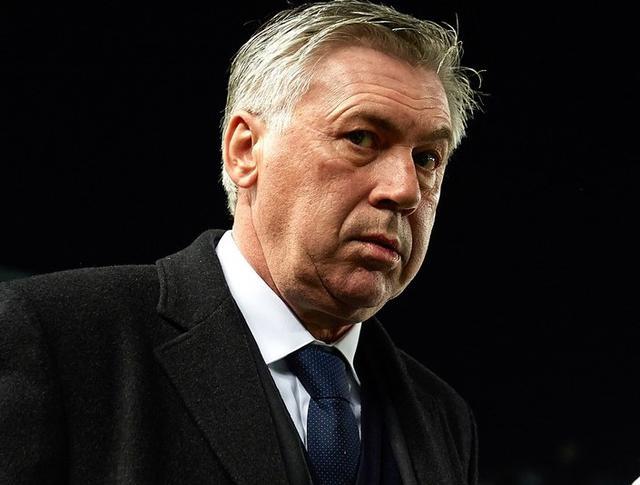 Il tecnico Carlo Ancelotti, foto: Fonte Web