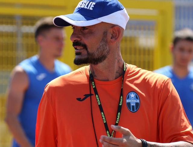 Il tecnico dei neroazzurri Ciro Ginestra, foto: Emanuele Mastrodonato