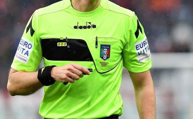 La maglia dell'arbitro, foto: Fonte Web