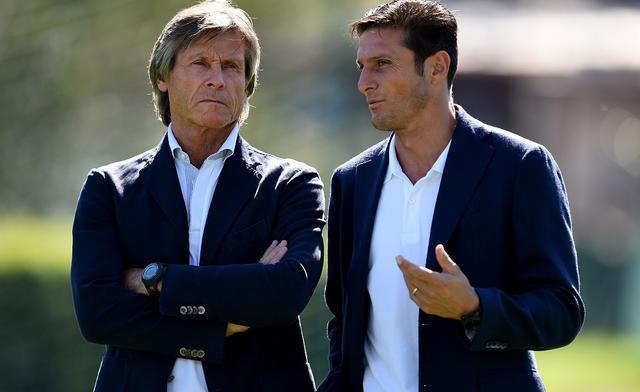 Oriali e Zanetti, FOTO: CLAUDIO VILLA