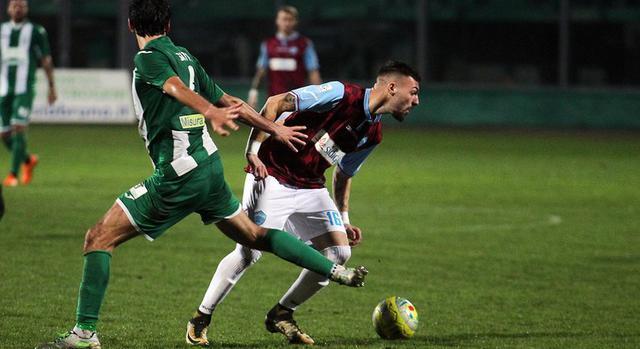 L'attaccante Gaetano Dammacco in azione, foto: Lepresse