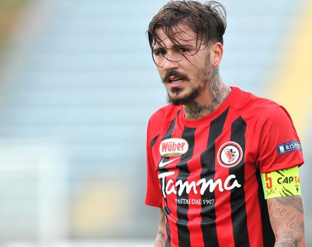Il centrocampista Antonio Vacca, foto: Fonte Web