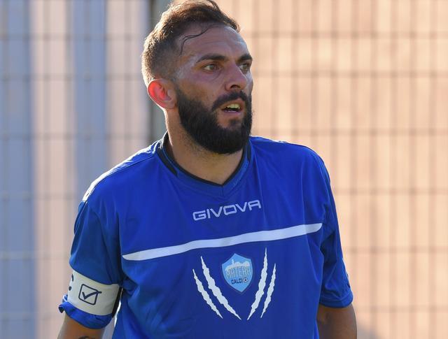 Il centrocampista Marian Galdean, foto. Emanuele Taccardi