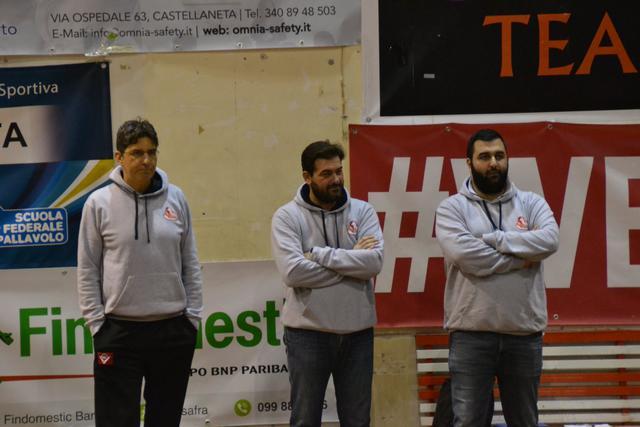 Lo staff della Valentino Castellaneta: Nicola Leale, Sergio Voltasio e Jacopo Minafra