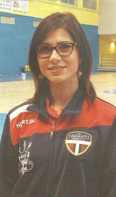 Alina Preda, vicepresidente della New Taranto Calcio a 5