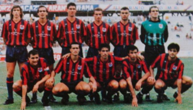 Il Taranto 89-90 con Simone Giacchetta
