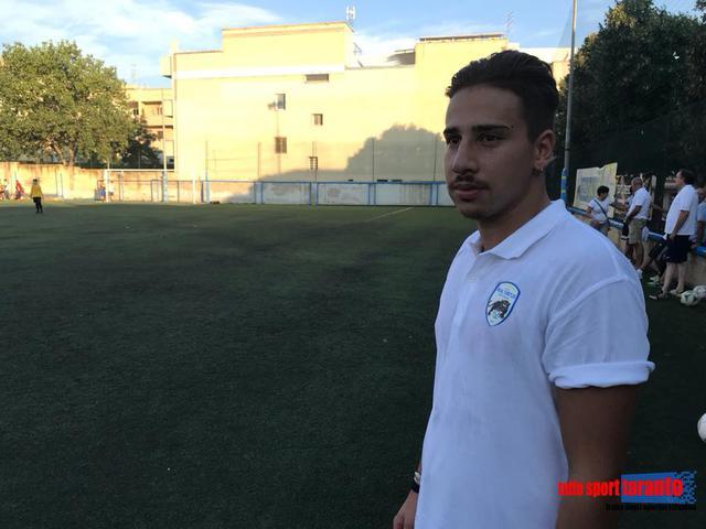 Daniel Spinelli, nuovo allenatore dei portieri cat. Giovanissimi