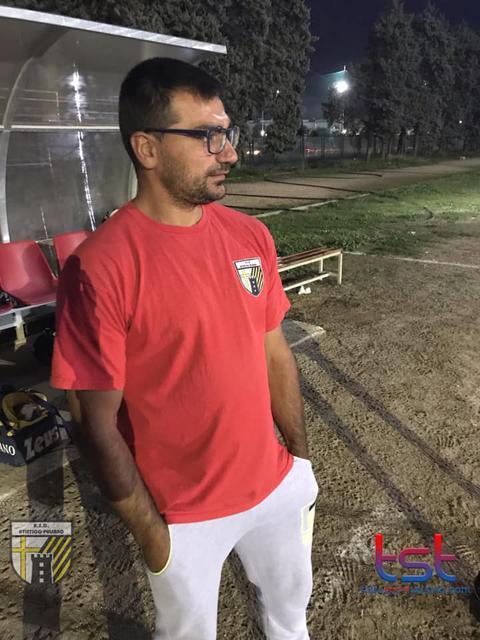 L'allenatore degli Allievi dell'Atletico Pulsano, mister Palomba