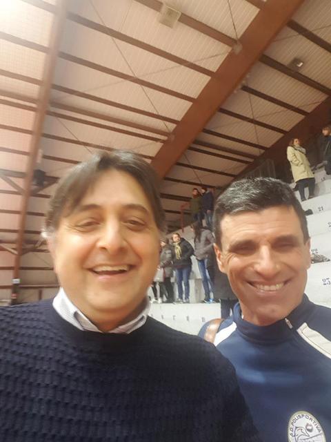 Il patron Fabio Tagarelli e il tecnico Gianni Narracci
